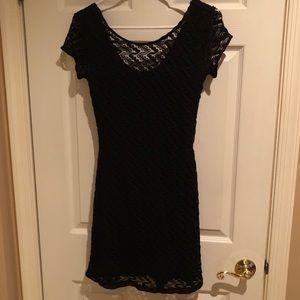 Knit lace/crochet dress